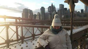 Neroli Price at the Brooklyn Bridge