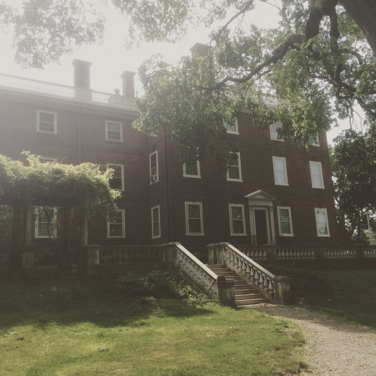The John Brown House Museum in Providence, RI
