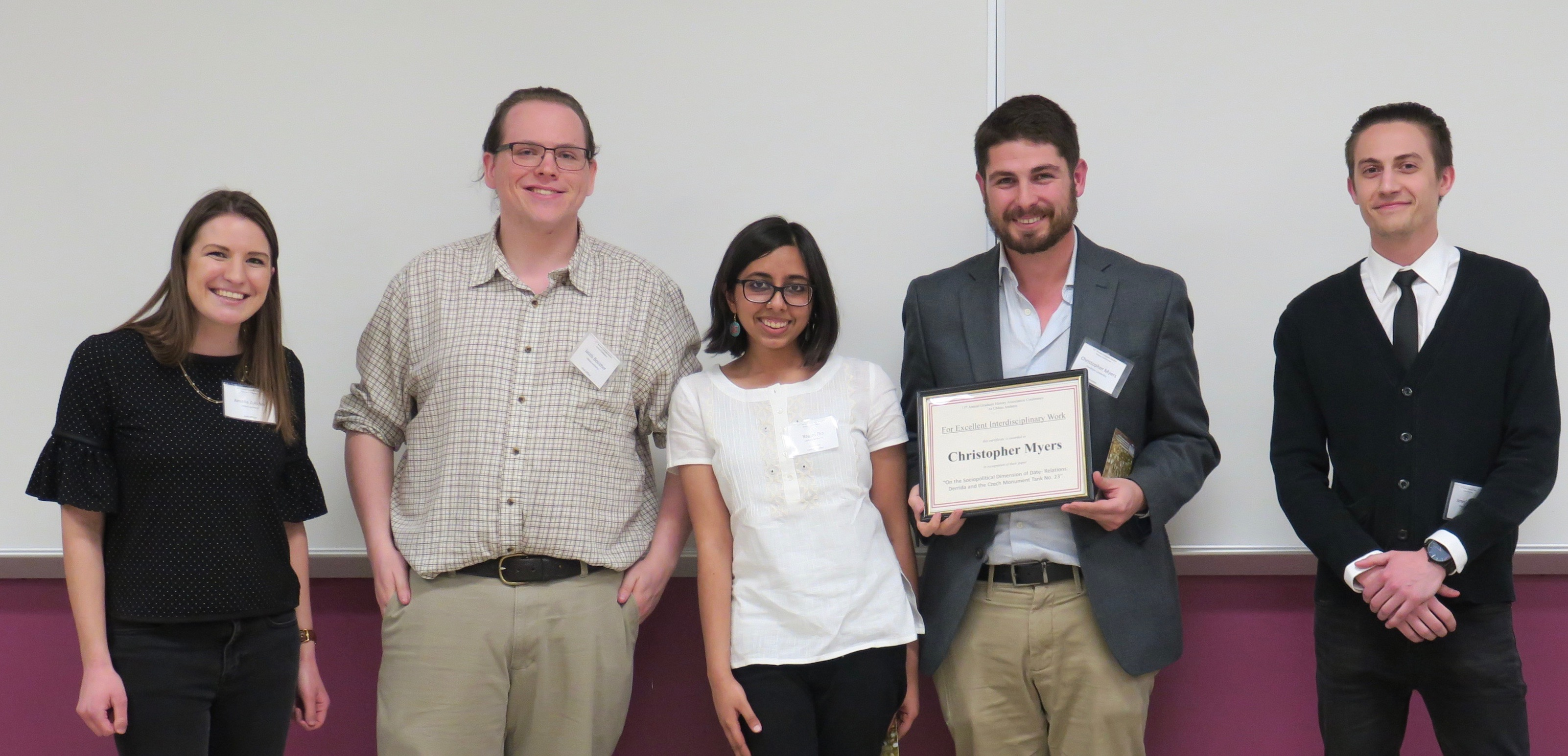 Article A Fruitful Year for the Graduate History Association